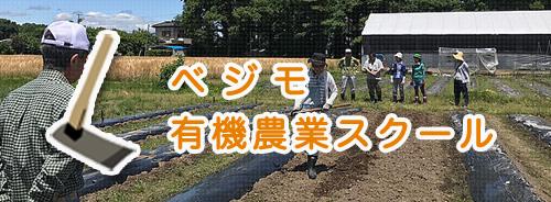 ベジモ 有機農業スクール