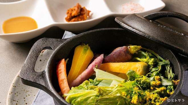 ベジモ野菜食堂ダッチオーブン