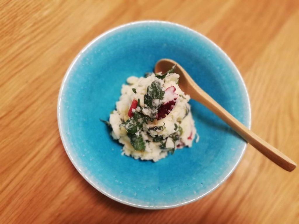 クレソンと蛸のポテトサラダ
